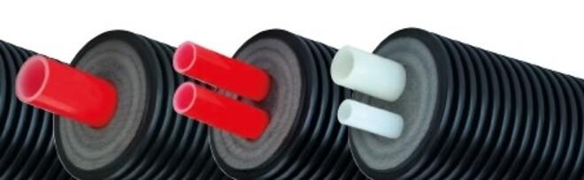 Fleksible præisolerede rør fra Nordic Pipe ApS