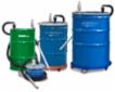 Drum Vac opsamler kølemiddel, olie, spildte væsker, gylle/slam, spildevand mm.