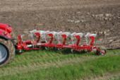 Overgemt AGROLUX 5-furet vendeplov med riste