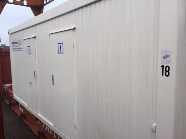 20' toiletcontainer