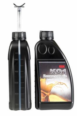 KO1 Kompressorolie Kgk til stempelkompressor