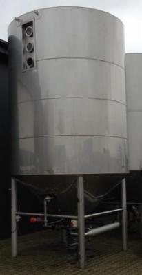 1 stk. 15 m3 isolerede rustfri tanke V0331