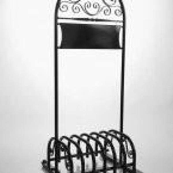Antik cykelstativ /skiltestativ