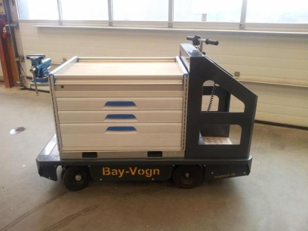BAYVOGN | El-vogn til intern transport