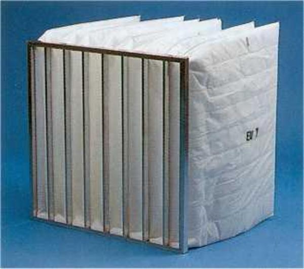 Kuvertfiltre - filterposer - div. filtermaterialer