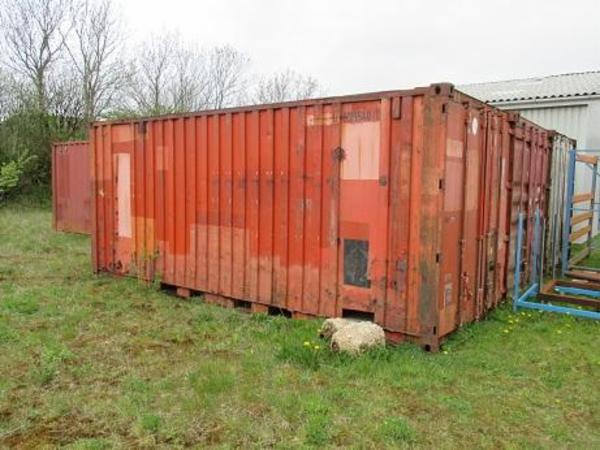 20 fods container let rusten