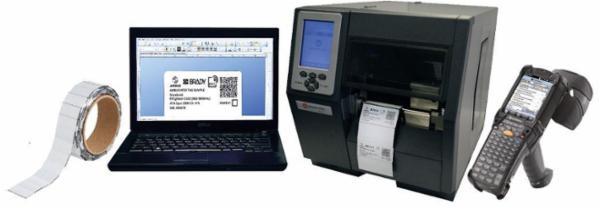 Brady tilbyder den letteste solide RFID-label