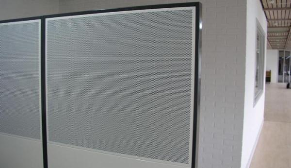 Matador skærmvæg / rumdeler til støj og akustik i industri og på kontor