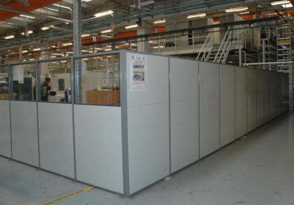 Matador skærmvægge / rumdeler - arbejdspladsindretning til industri og værksted