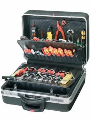 Værktøjskasse på hjul - Parat