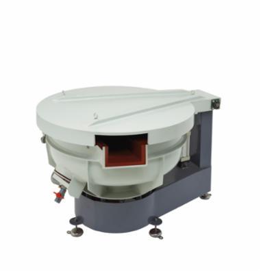 Rundvibrator med automatisk udladning