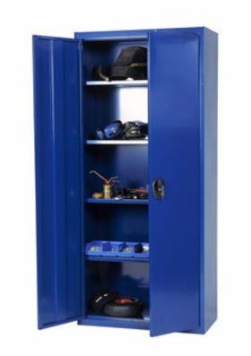 Opbevaringsskab model SWED 180 blå