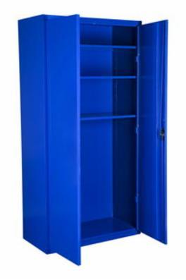 Opbevaringsskab model SWED 3 blå