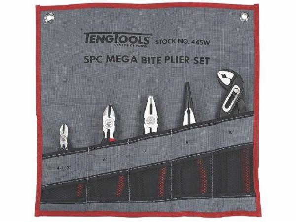 Teng Tools tangsæt 445W 5 dele