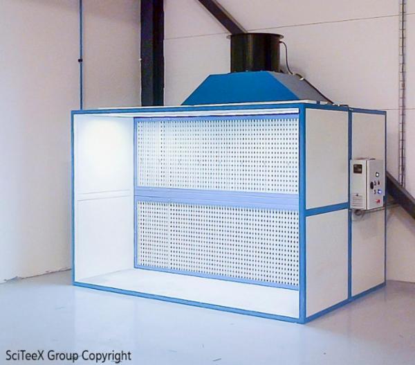 SciTeex sprøjtebokse fra SurfaceTechnic