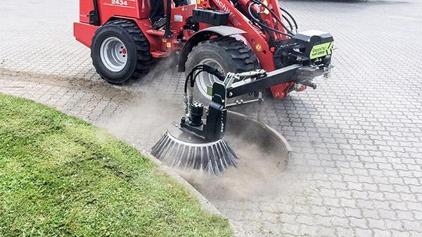 Ukrudtsbørste maskine | GreenTec BR 70 & 90