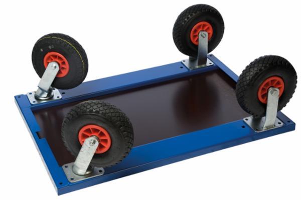 Udskiftning til luftgummihjul Ø260 mm