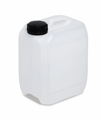 Kunststofdunk af polyethylen (PE), 5 liters volumen, transparent