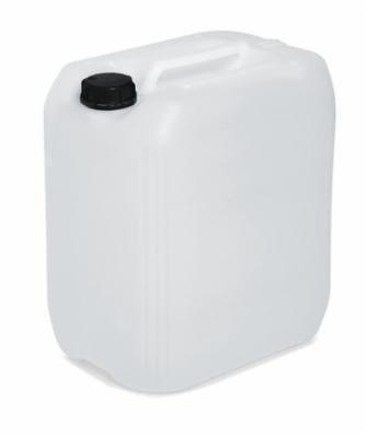 Kunststofdunk af polyethylen (PE), 30 liters volumen, transparent