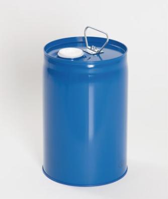 Sikkerhedsbeholder af lakeret stål med indvendig beholder af PE, 12 liter