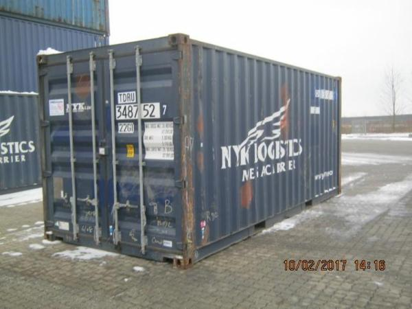 348752-7 20'skibscontainer