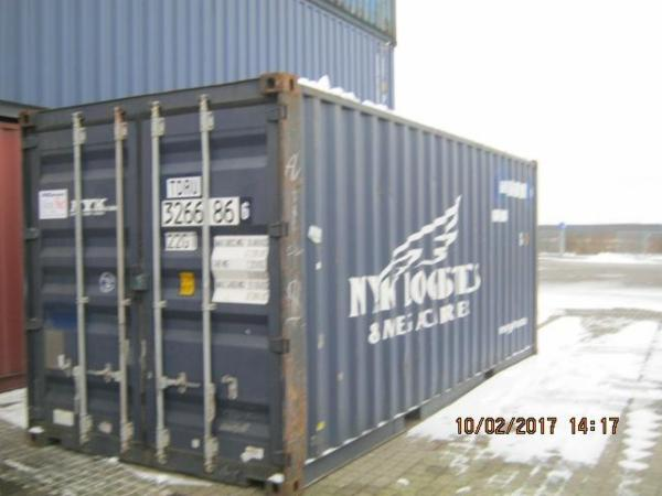 326686-6 20'skibscontainer