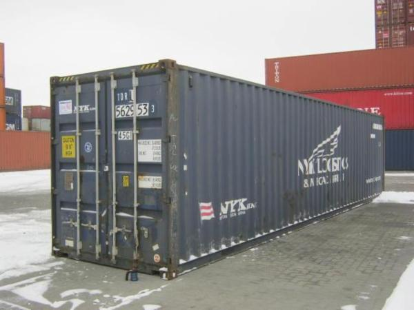 562953-3 40'skibscontainer