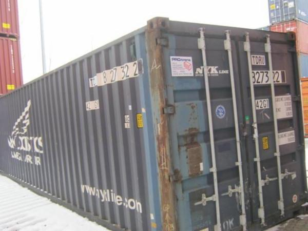 827322-0 40'skibscontainer