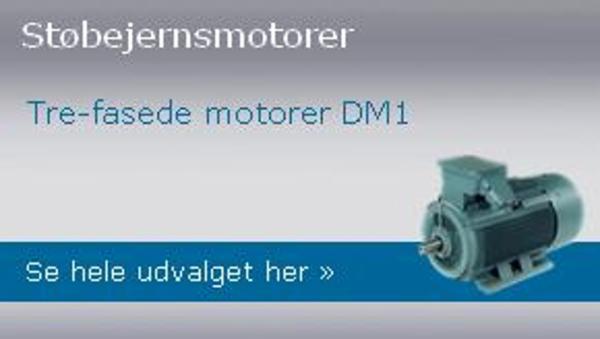 Motorer fra DM Motors