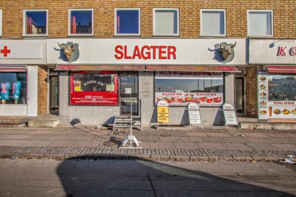 Slagter/catering forretning til afståelse i Hvidovre