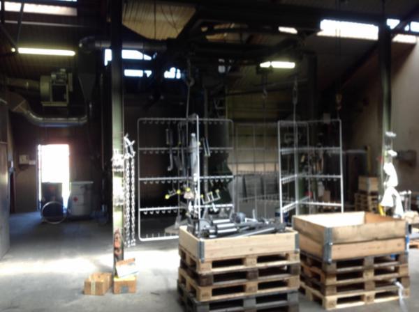 Gutmann slyngrenser hængebane 2000 x 3000 høj med 3 stk 11 KW motor