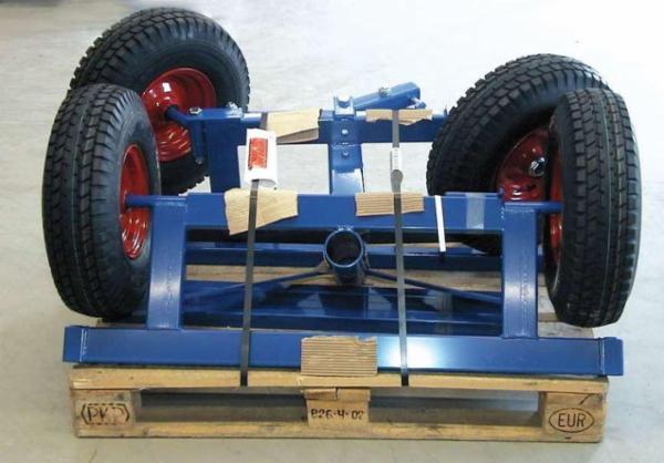 Langgodsvogn instillelig fra 2,5 til 4,0 m.