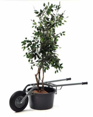 Planter transportør til bajler 65/90 Liter
