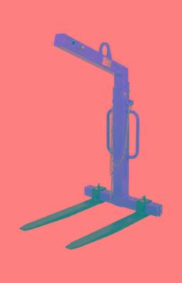 Krangafler selvjusterende til 1500 kg