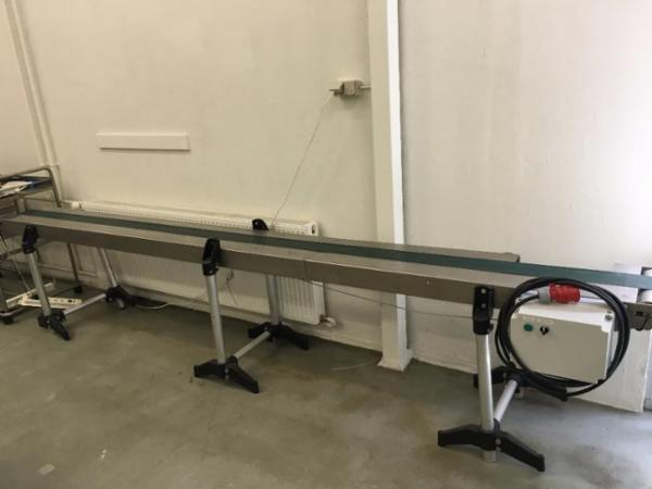 Transportbånd, Længde 400cm.