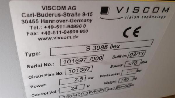 AOI Viscom S3088Flex 2013