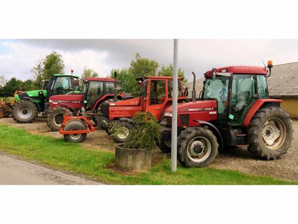 1334 Traktorer, landbrugsmaskiner, minilæsser, m.m. sælges via Campen Auktioner
