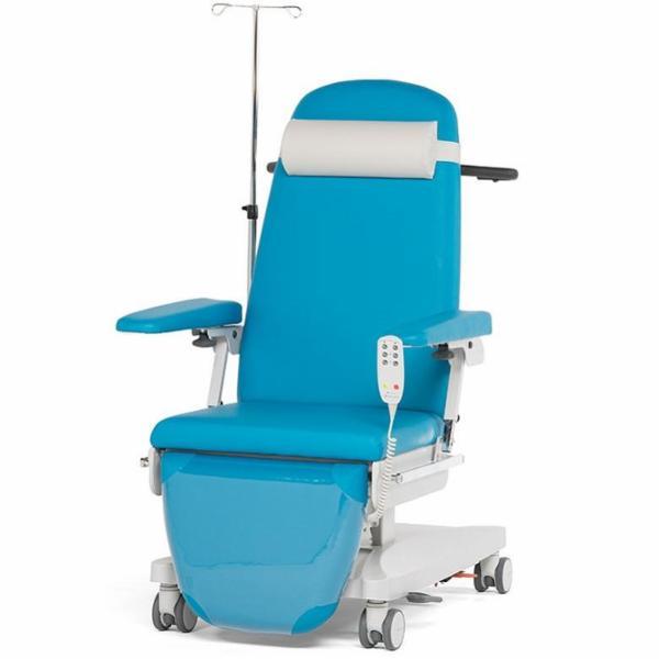 Behagelig og anvendelig patientstol til alle former for infusion/transfusion