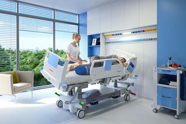 Højteknologisk hospitalsseng til intensivafdelingen - Eleganza 5