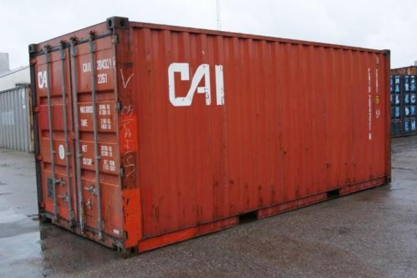 204321-4 20'skibscontainer