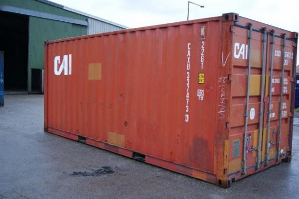 337473-3 20'skibscontainer