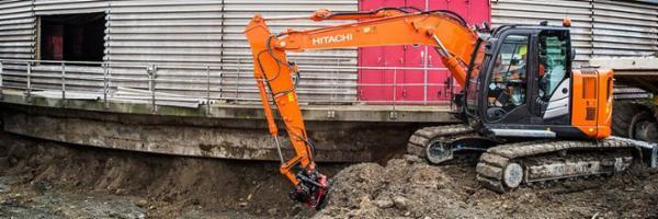 Hitachi gravemaskiner