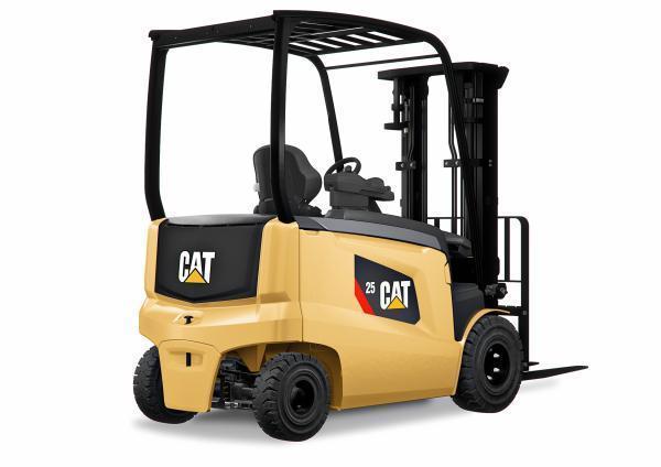 Rocla Danmark forhandler kraftige og alsidige 4-hjulede eltruck fra Cat Lift Trucks