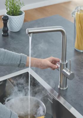 GROHE Red 2.0 - kogende vand på et øjeblik