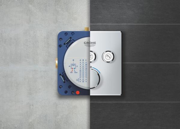 GROHE Rapido SmartBox - ganske enkelt flere fordele