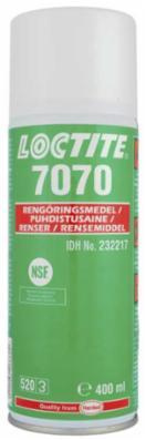 Rengørings-/affedtningsspray Loctite 7070