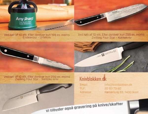 Skarpe firmagaver til gode priser - Alle bliver glad for en skarp kniv fra knivblokken.dk
