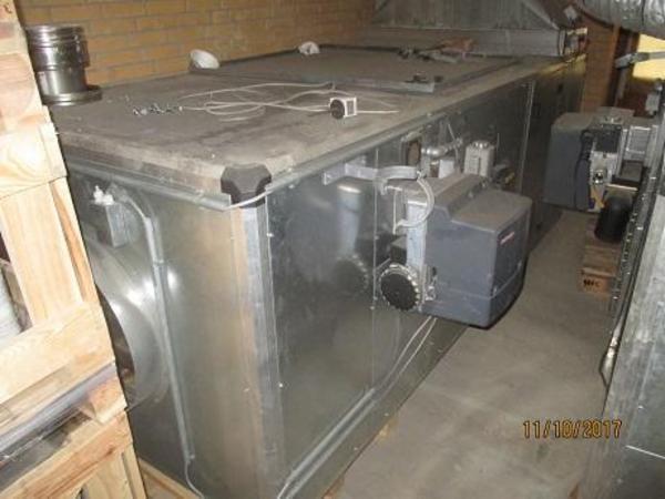 Varme agregat for opvarmning af malekabiner type Airheat sælges