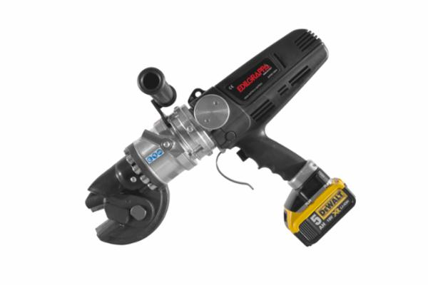Jernklipper på batteri til 16 mm armeringsjern