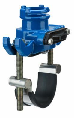 AVK Supa Lock™ anboringsbøjle med spadeafspærring